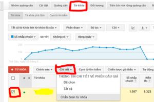 Cach do luong hieu qua quang cao Google AdWords 1